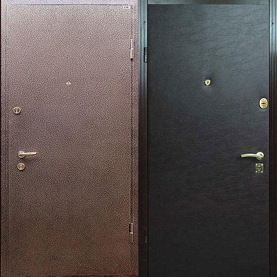 дверь металлическая входная порошковая окраска