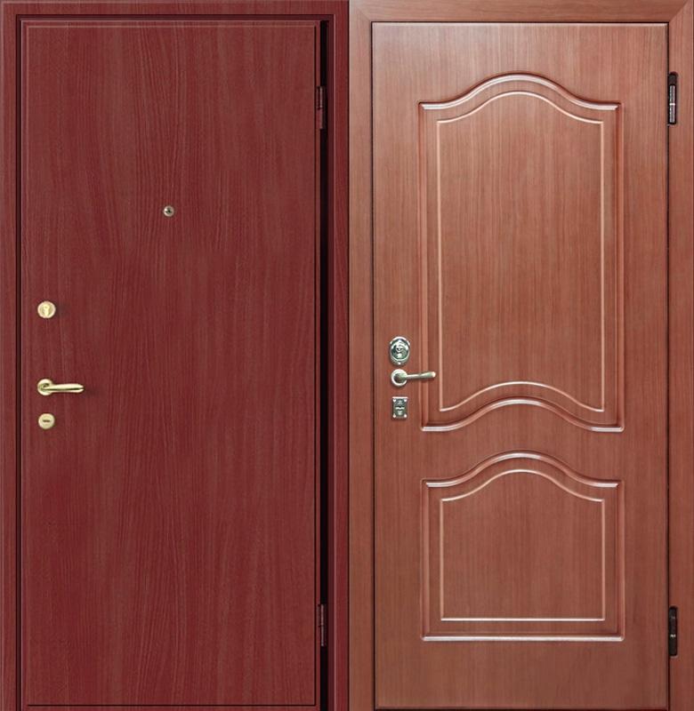 дверь входная из мдф ламинированная