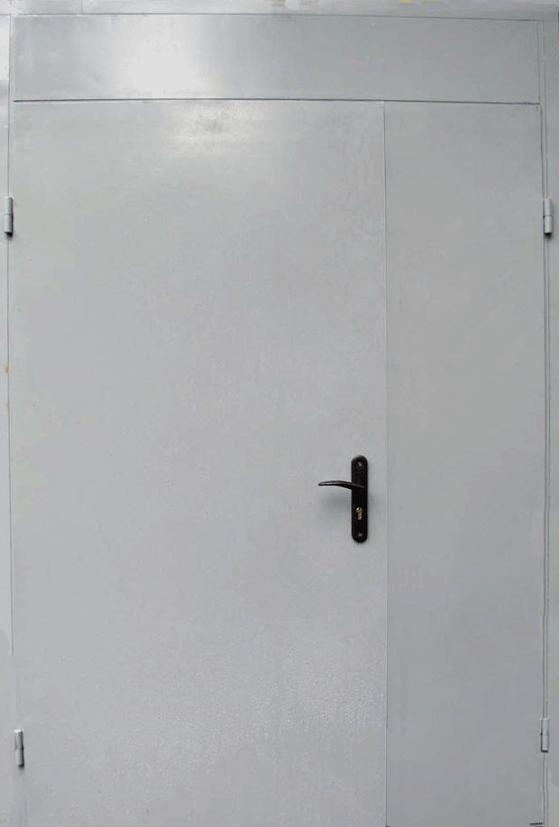 тамбурные металлические двери стальные
