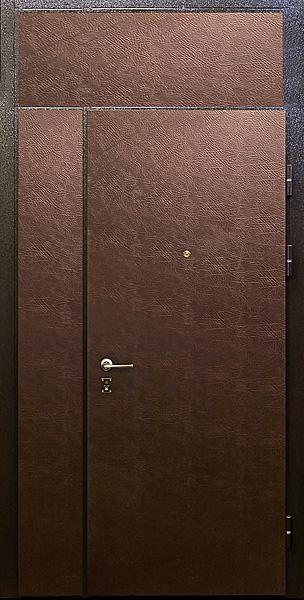 двери металлическая со вставками