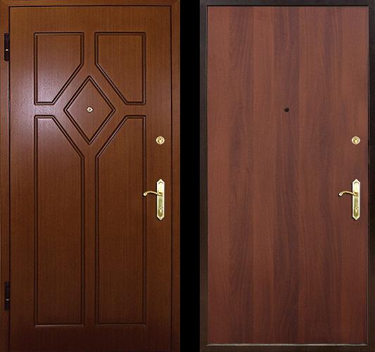 входные двери с необычной внутренней отделкой мдф недорого